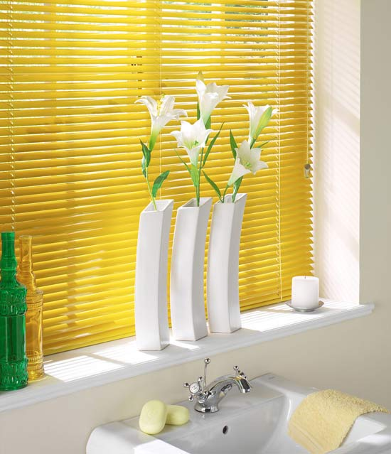 Satin Sun Flash Venetian Blinds