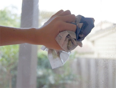 Lpt Use Newspaper To Clean Your Windows It Works