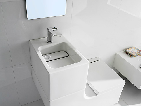 Roca W+W Wash basin and WC