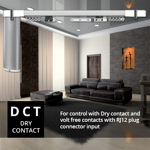 Glydea Dct Electric Curtain Track At Controliss
