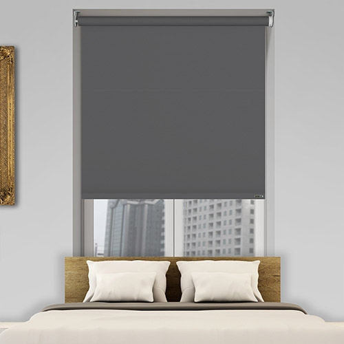 Oscuro Basalt 240V 4-Core Switched Electric Roller Blinds
