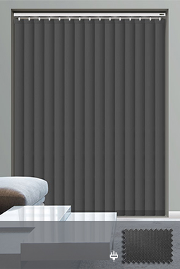 Made To Measure Electric Amp Remote Control Vertical Blinds Uk